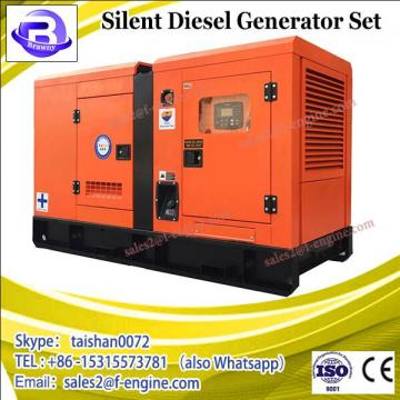 Factory direct sale silent type single phase / three phase diesel generator set