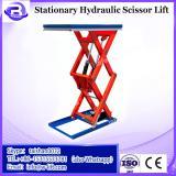 BTD-X36H Double Hydraulic / Stationary Scissor Lift Platform Table